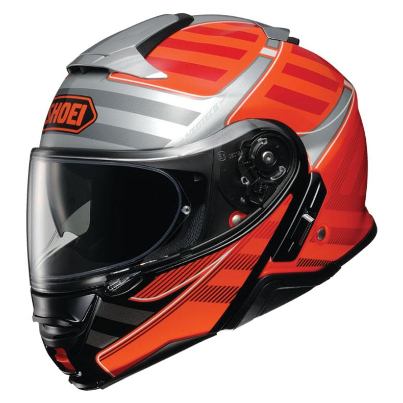 Shoei Neotec II Splicer Orange Modular Helmet