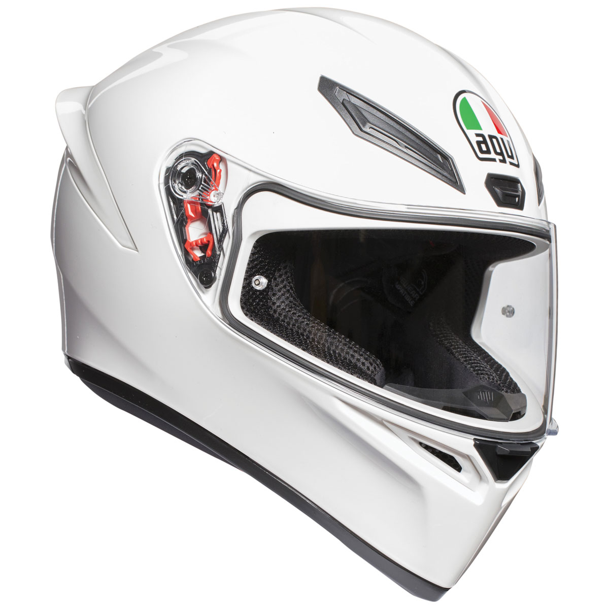 AGV K1 White Full Face Helmet