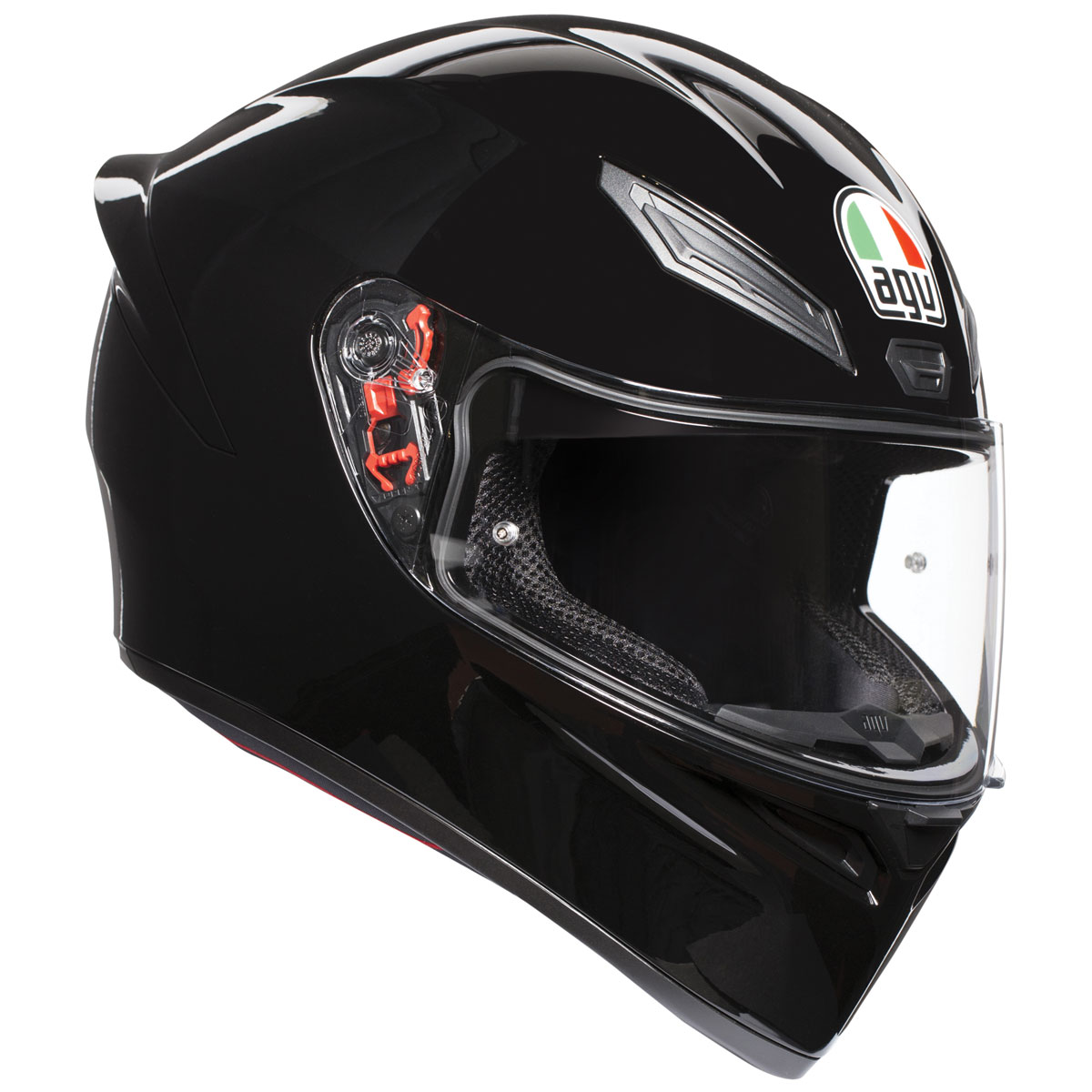 AGV K1 Black Full Face Helmet