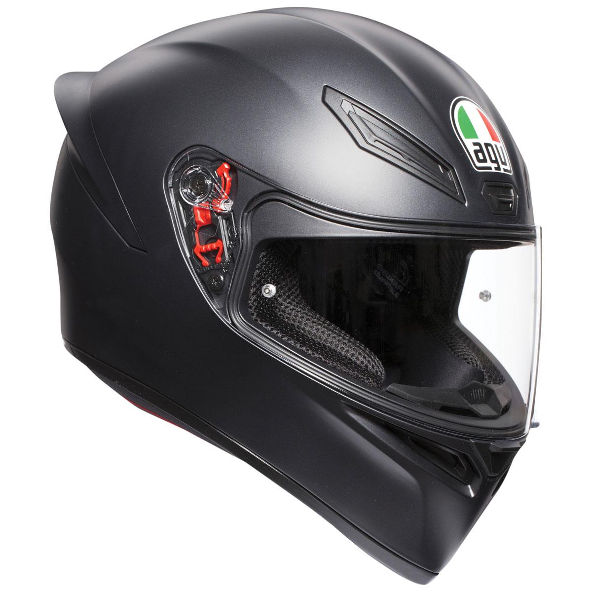 AGV K1 Matte Black Full Face Helmet