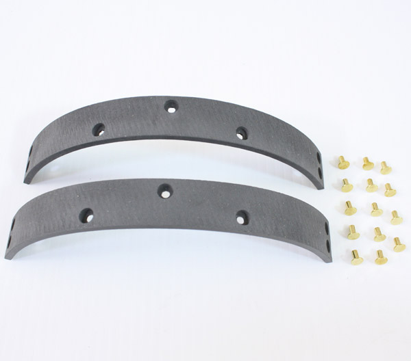 J&P Cycles® Brake Shoe Linings