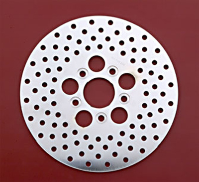 J&P Cycles® Stainless Steel Disc Brake Rotor