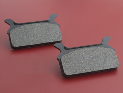 J&P Cycles® Organic Stock Replacement Rear Brake Pads