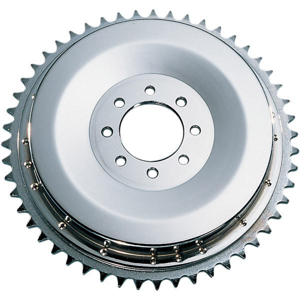 J&P Cycles® Rear Brake Drum and Sprocket