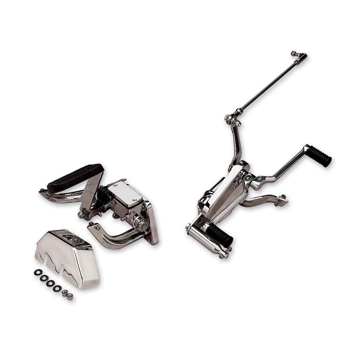 J&P Cycles® Shift Side Forward Control and Floorboard Mounting Kit