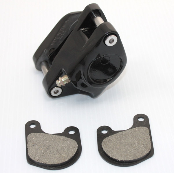 V-Twin Manufacturing Right Brake Caliper Only Black