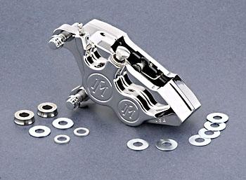 Performance Machine Direct Bolt-On 4 Piston Caliper