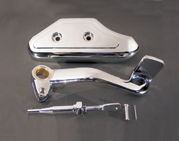 V-Twin Manufacturing Pedal and Master Cylinder Cover Kit