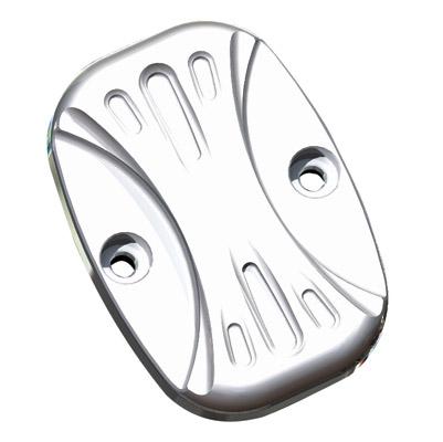 Arlen Ness Chrome Deep Cut Rear Master Cylinder Cover