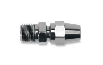 Russell Renegade Black Steel 1/8″ Male NPT Straight Fitting