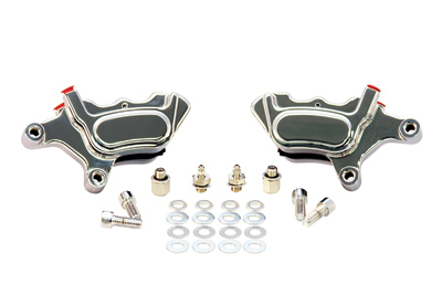 GMA by BDL Smooth M Style Front Dual-disc Brake Calipers