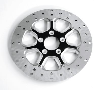 Roland Sands Design Contrast Cut Diesel Front Brake Rotor