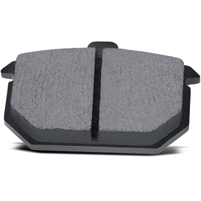 Hawk Performance Organic Rear Brake Pads for Dyna, Softail and Sportster
