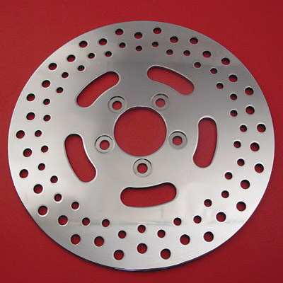 Drilled Stainless Steel Rotor