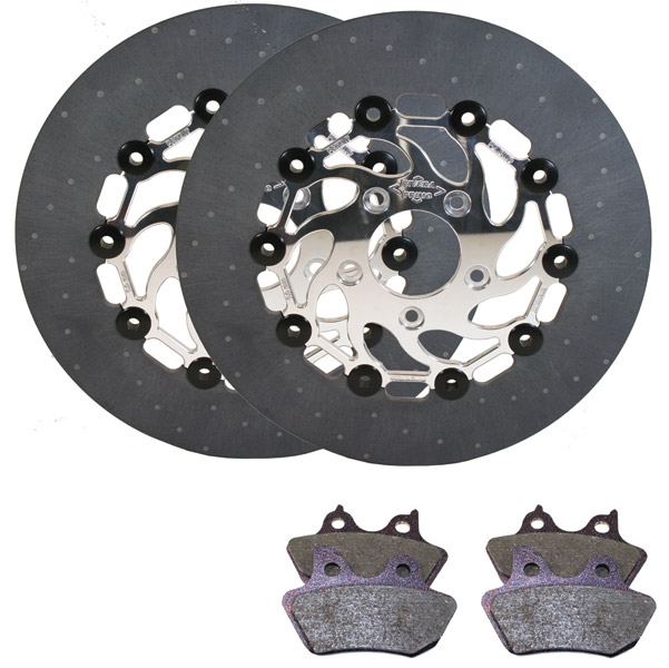 Primo Belt Drives Extreme Brake Rotor Kit for FL Front