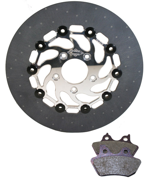 Primo Belt Drives Extreme Brake Rotor Kit for FL Rear