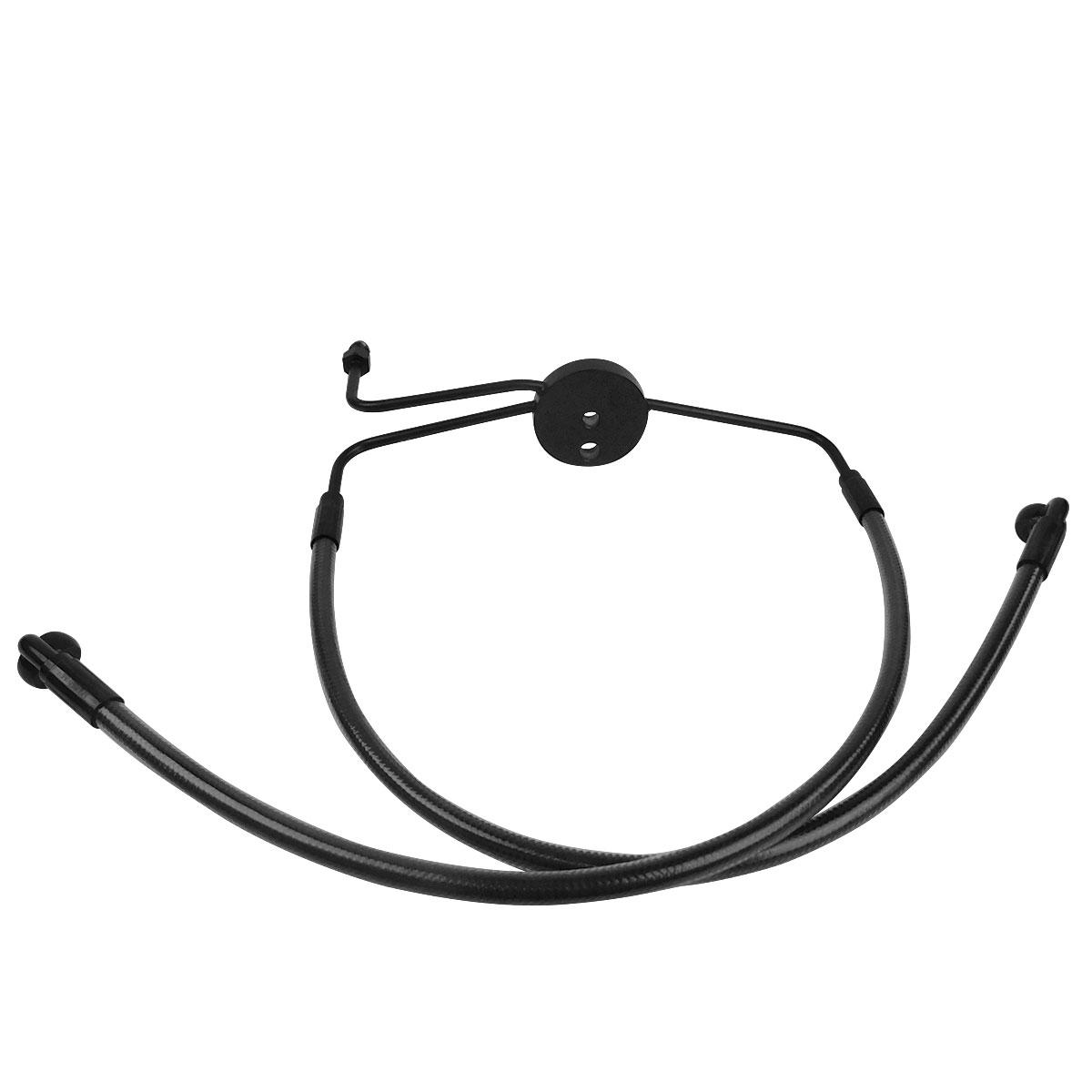 Magnum Designer Black Pearl Dual Disc Lower Brake Line Kit
