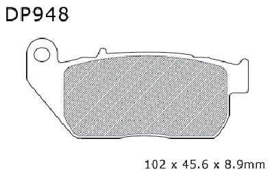 DP Brakes Sintered Brake Pads