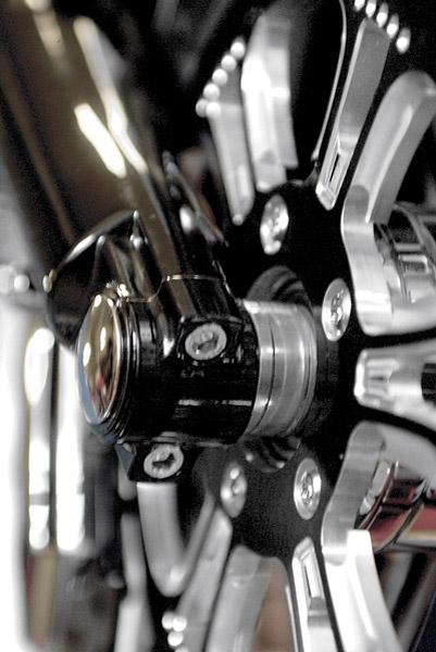 Klock Werks Fork-N-Finish Piece Lower Fork Leg and Axle Cap