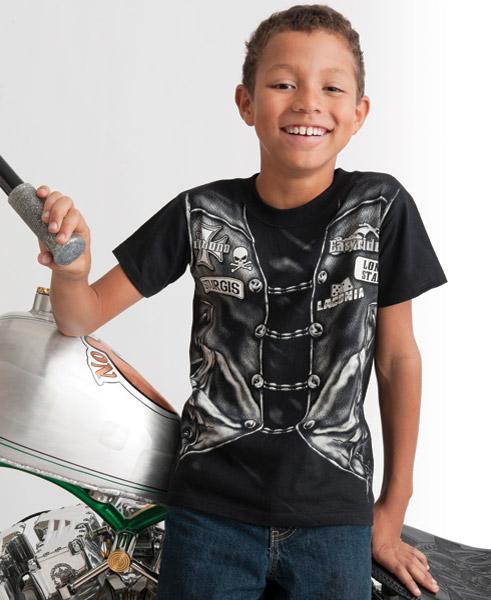 Easyriders Kids Biker Vest T-shirt
