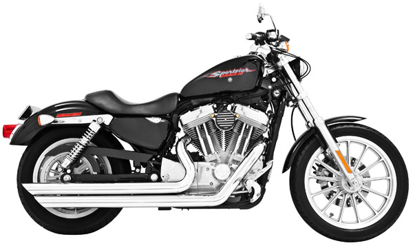 Freedom Performance Exhaust Patriot Long Chrome Exhaust