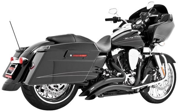 Freedom Performance Exhaust Black Sharp Curve Radius System  sc 1 st  Ju0026P Cycles & Freedom Performance Exhaust Black Sharp Curve Radius System | 246 ...