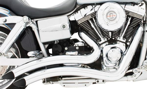 Freedom Performance Exhaust Chrome Sharp Curve Radius System