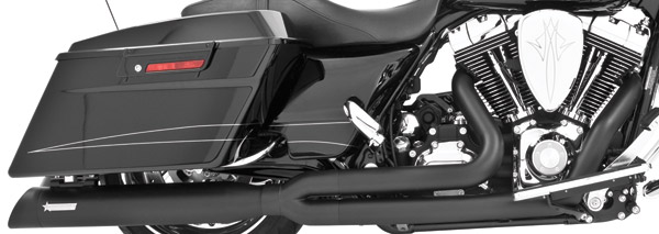 Freedom Performance Exhaust Union 2-into-1 Black Exhaust System