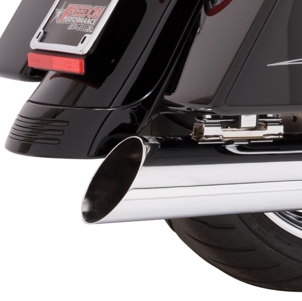 Freedom Performance Exhaust 4″ Classic Slip-Ons Inverted Slash Cut