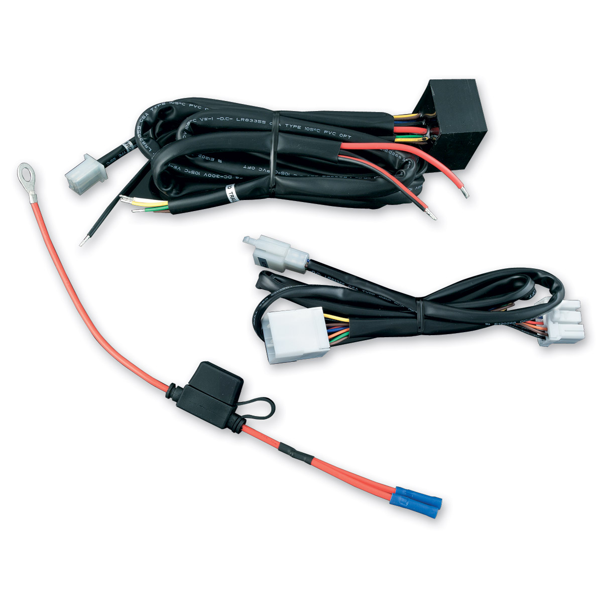 wiring harness connector ends auto electrical wiring diagram \u2022 automotive wire connector kit kuryakyn plug and play trailer wiring and relay harness 246 609 rh jpcycles com polaris wiring harness connectors ford wiring harness connectors