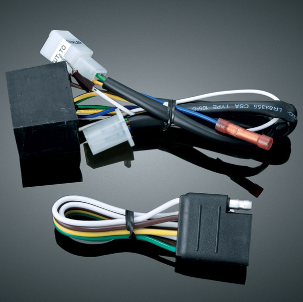 Kuryakyn 5 to 4-Wire Converter for Universal Trailer Wiring and Relay on