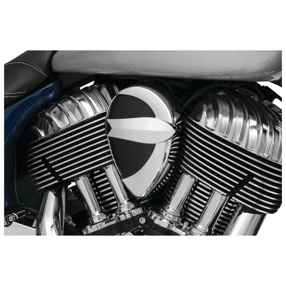 Kuryakyn Chrome John Shope Signature Series Horn Cover