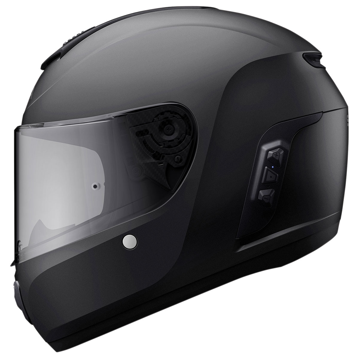 Sena Technologies Momentum Lite Bluetooth Integrated Black Full Face Helmet  - MO-LITE-MB-M-01