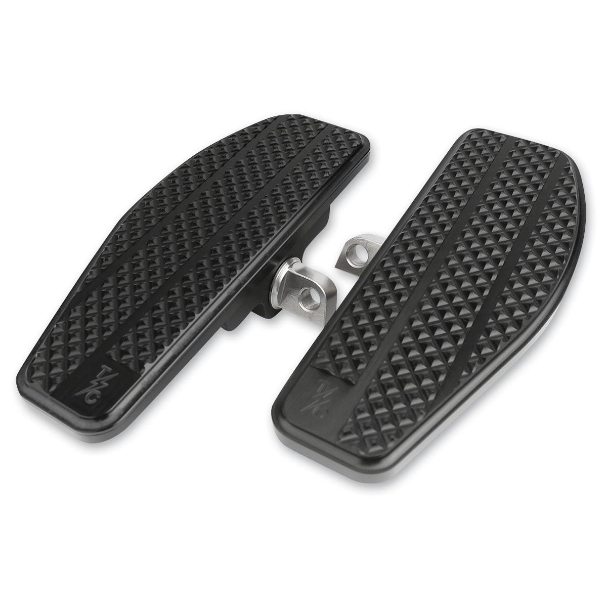 Thrashin Supply Company Black Driver Mini Floorboards - TSC-2025-1