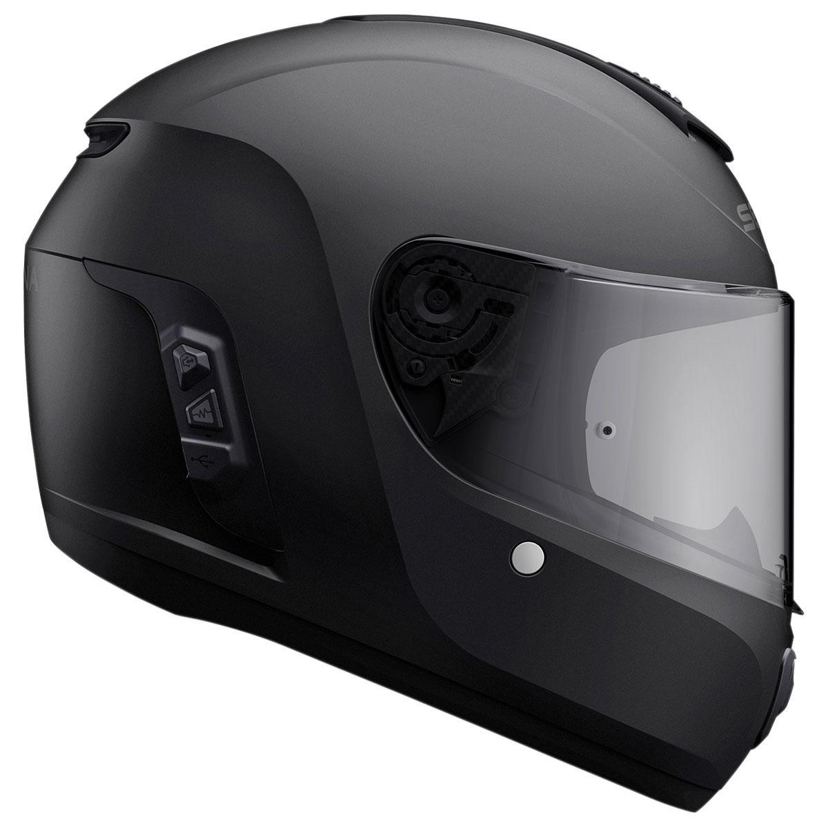 Sena Technologies Momentum INC Bluetooth Integrated Black Full Face Helmet