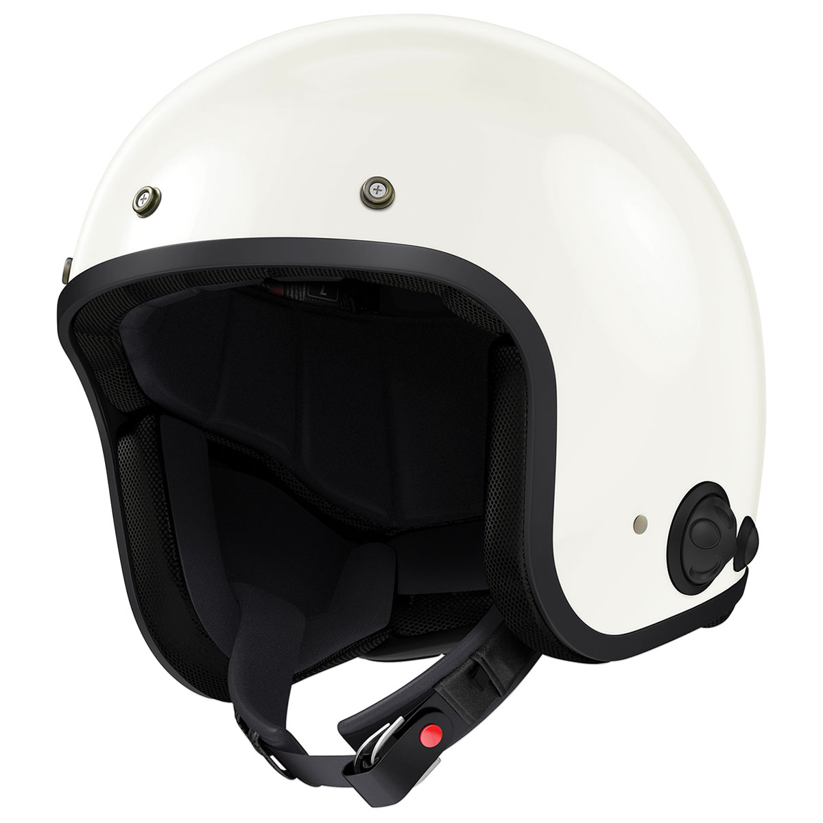 Sena Technologies Savage Bluetooth Integrated White Open Face Helmet