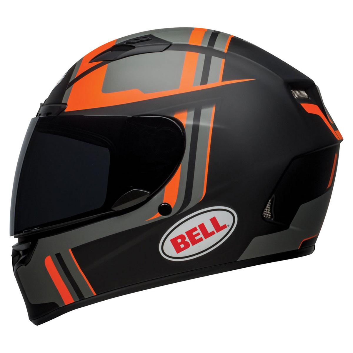 Bell Qualifier DLX MIPS Torque Matte Black/Orange Full Face Helmet