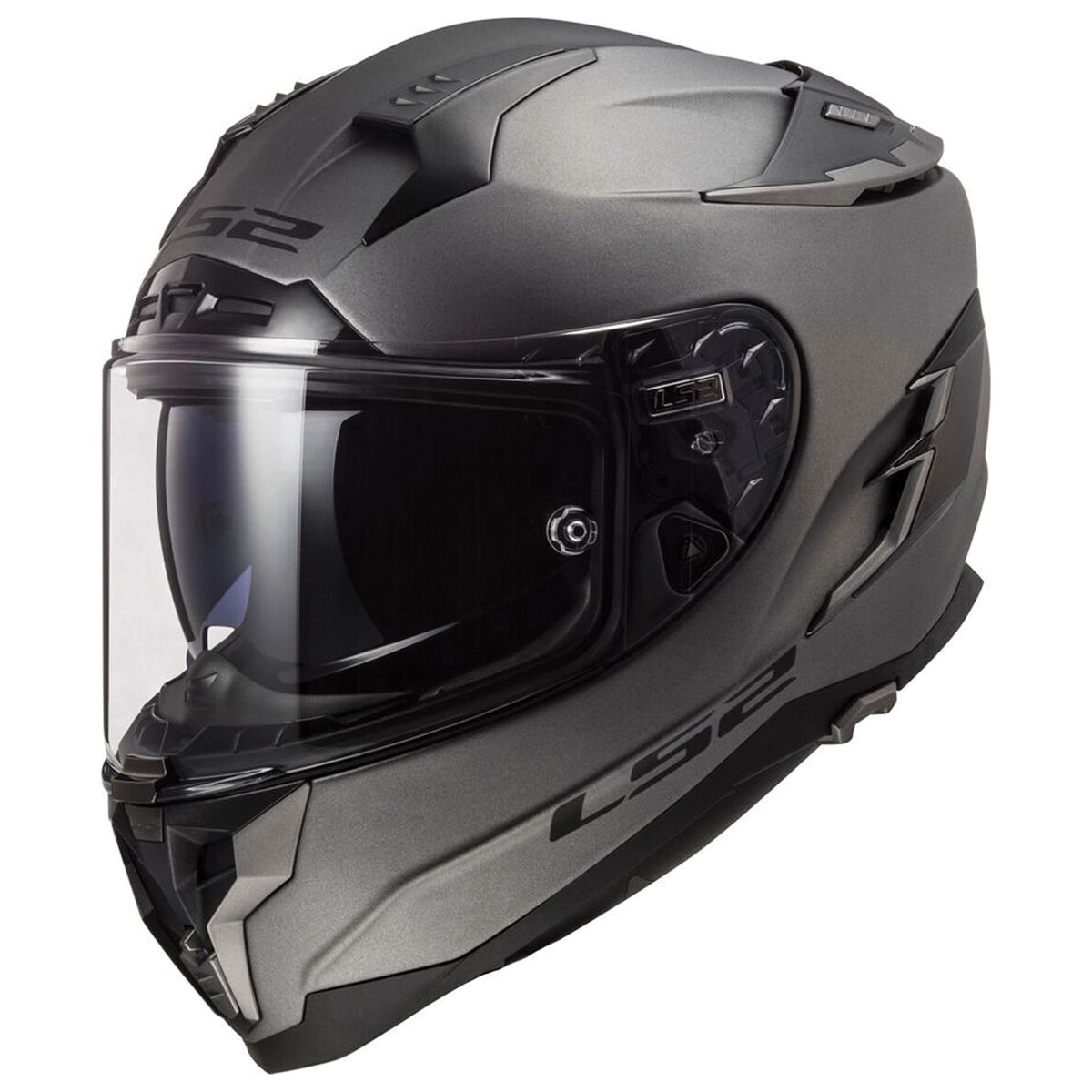 LS2 Challenger GT Matte Titanium Full Face Helmet