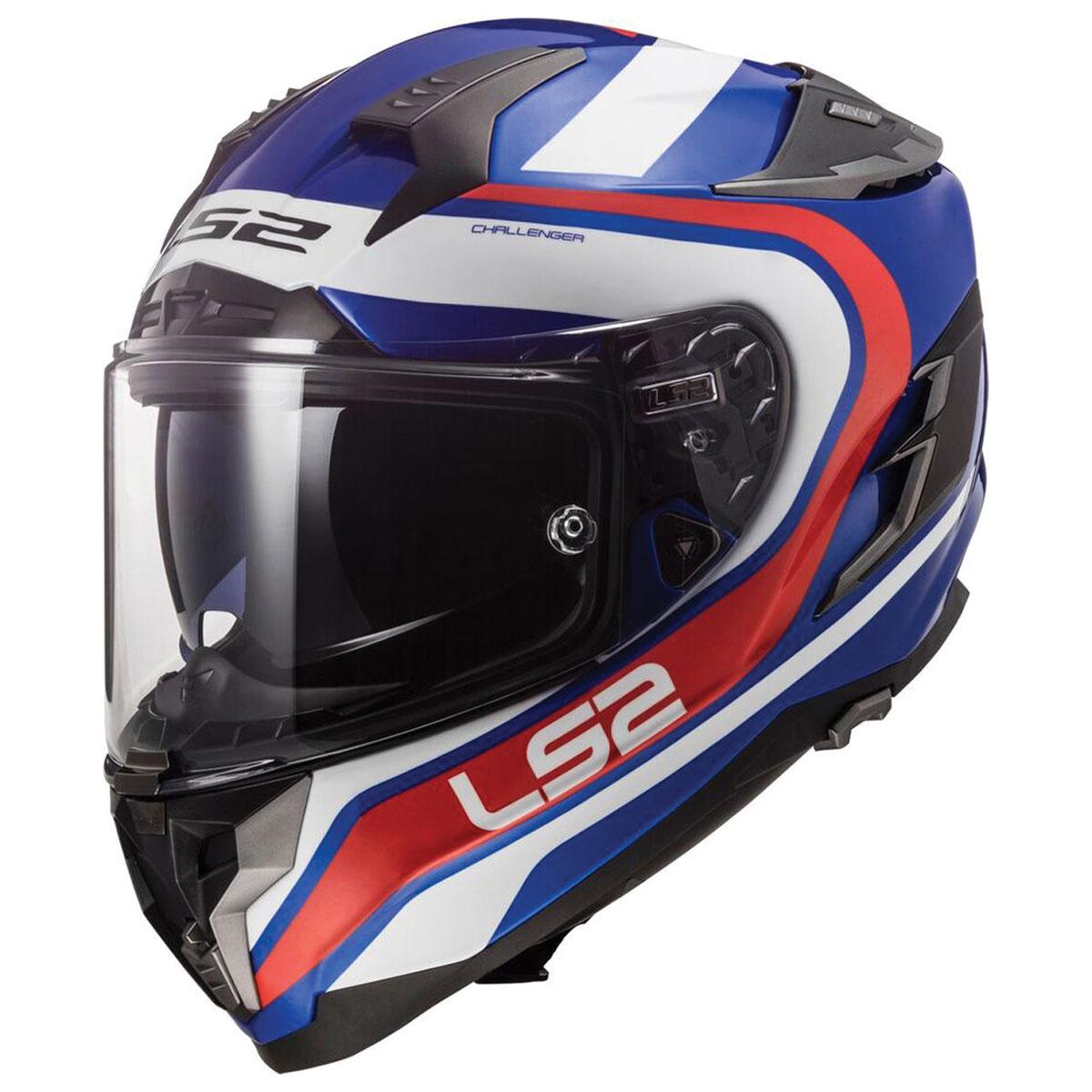 LS2 Challenger GT Fusion Blue/Red Full Face Helmet