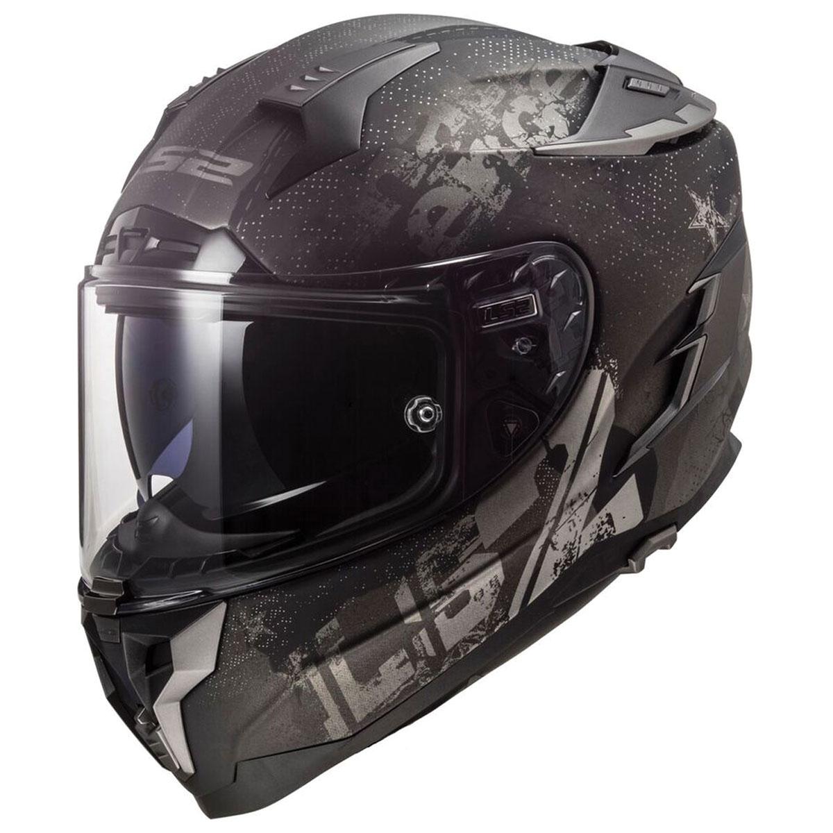 LS2 Challenger GT Flex Matte Black Full Face Helmet