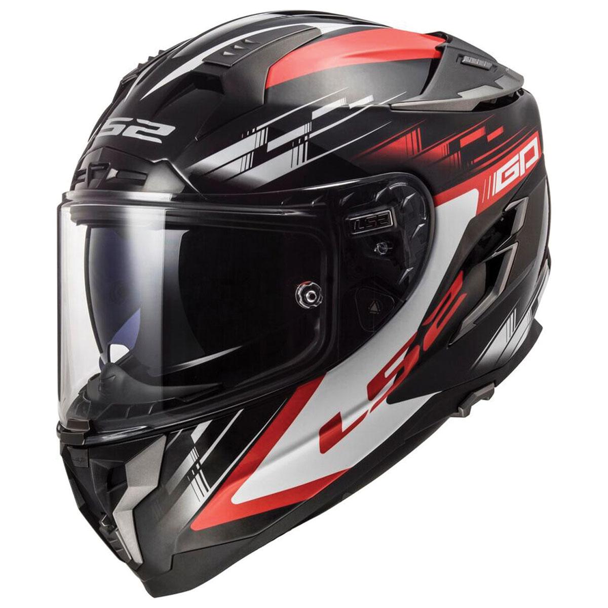 LS2 Challenger GT GP Red/Black Full Face Helmet