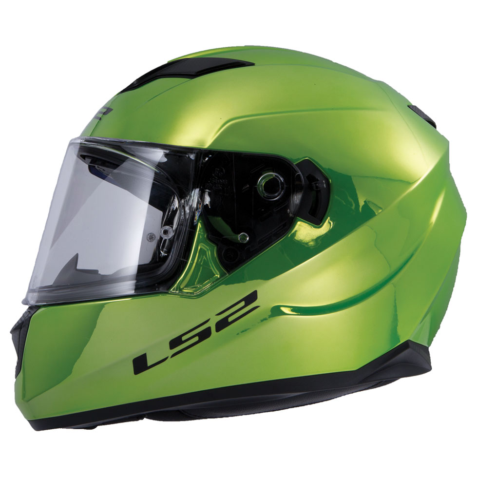 f19cade278c LS2 Stream Fallout Green Chrome Full Face Helmet - 328-1091 ...