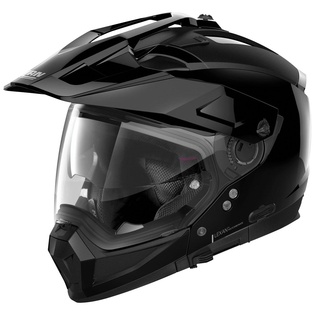 Nolan N70-2 X Gloss Black Dual Sport Helmet