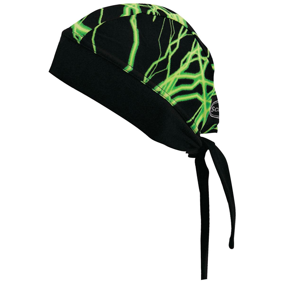 Schampa Green Lightning Stretch Head Wrap