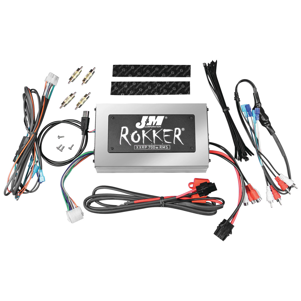 J&M Rokker XXRP 700W Amplifier Kit - JAMP-700HD98-UNV