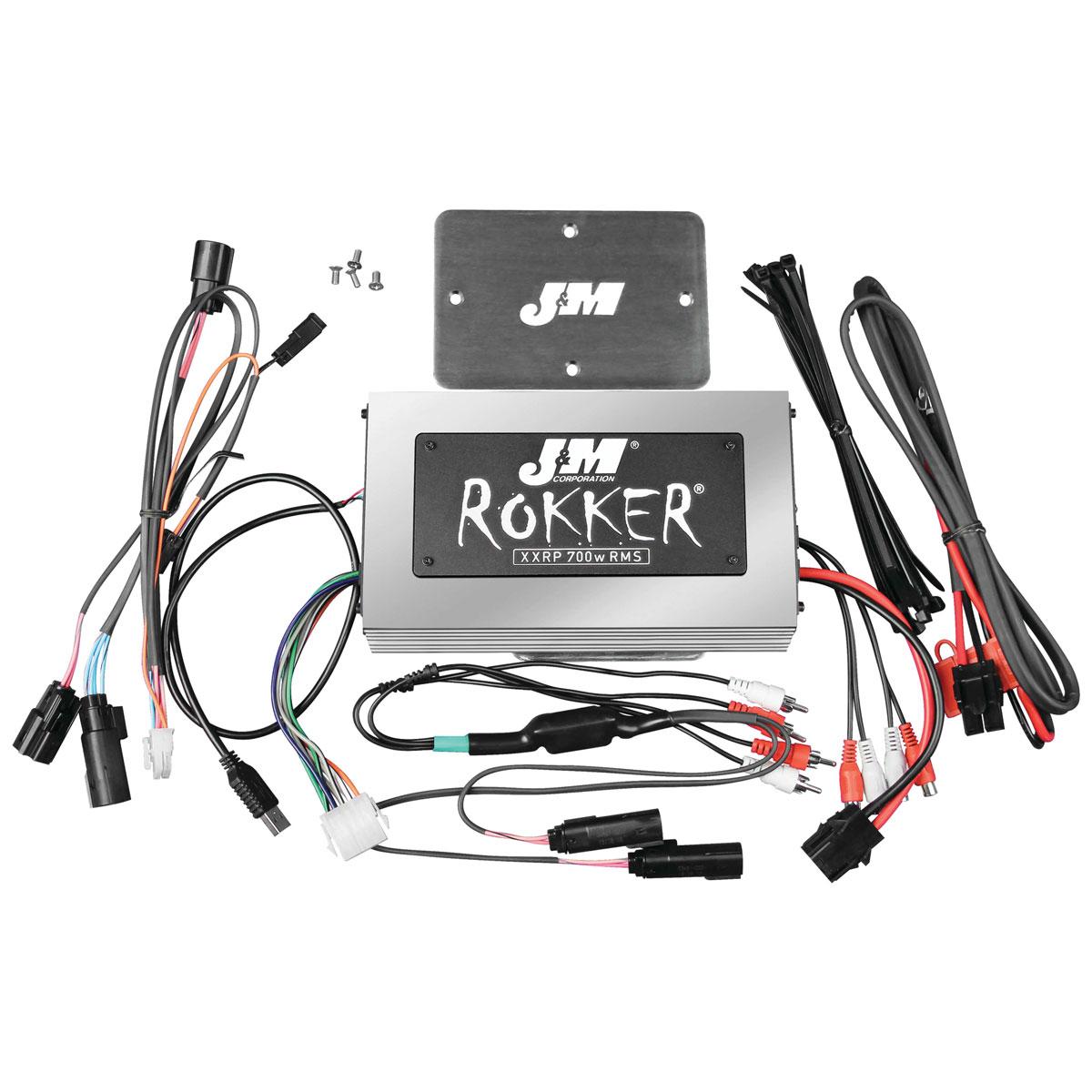 J&M Rokker XXRP 700W Amplifier Kit - JAMP-700HR15-RCP