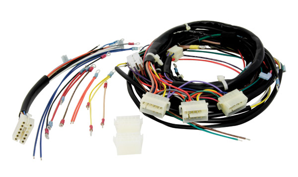 v twin manufacturing wiring harness builder kit 300 048 j p cycles rh jpcycles com Wiring Harness Diagram Automotive Wiring Harness