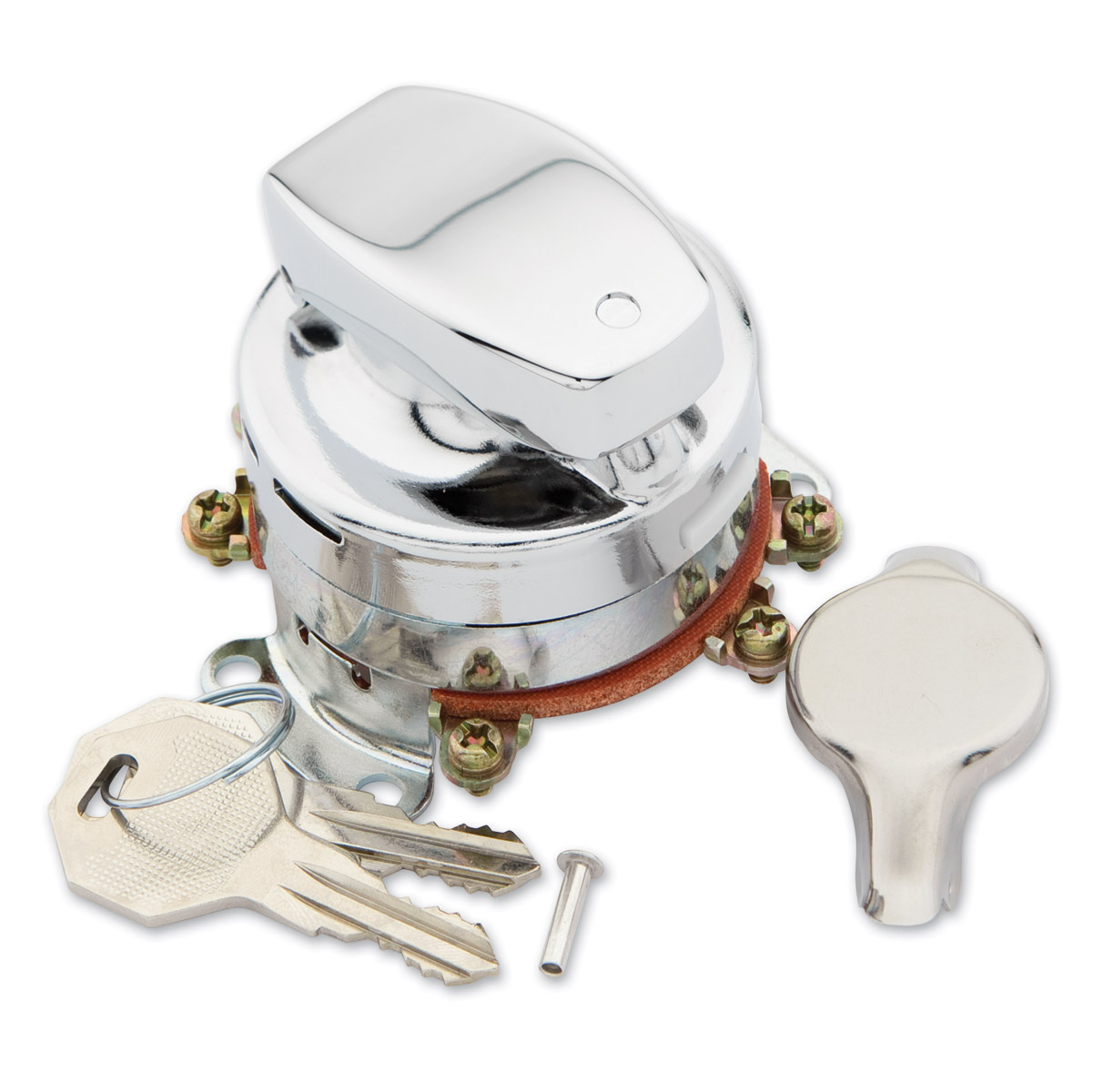 J&P Cycles Heavy-Duty Electronic Ignition Switch on