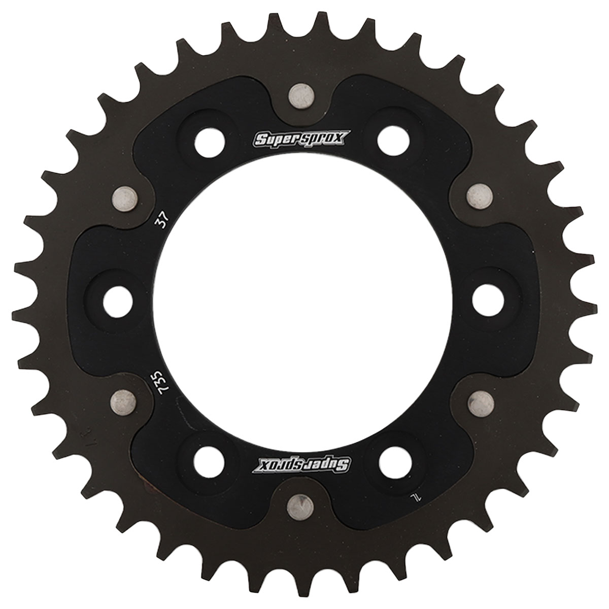 Supersprox Rear Stealth Sprocket 520 37T Black