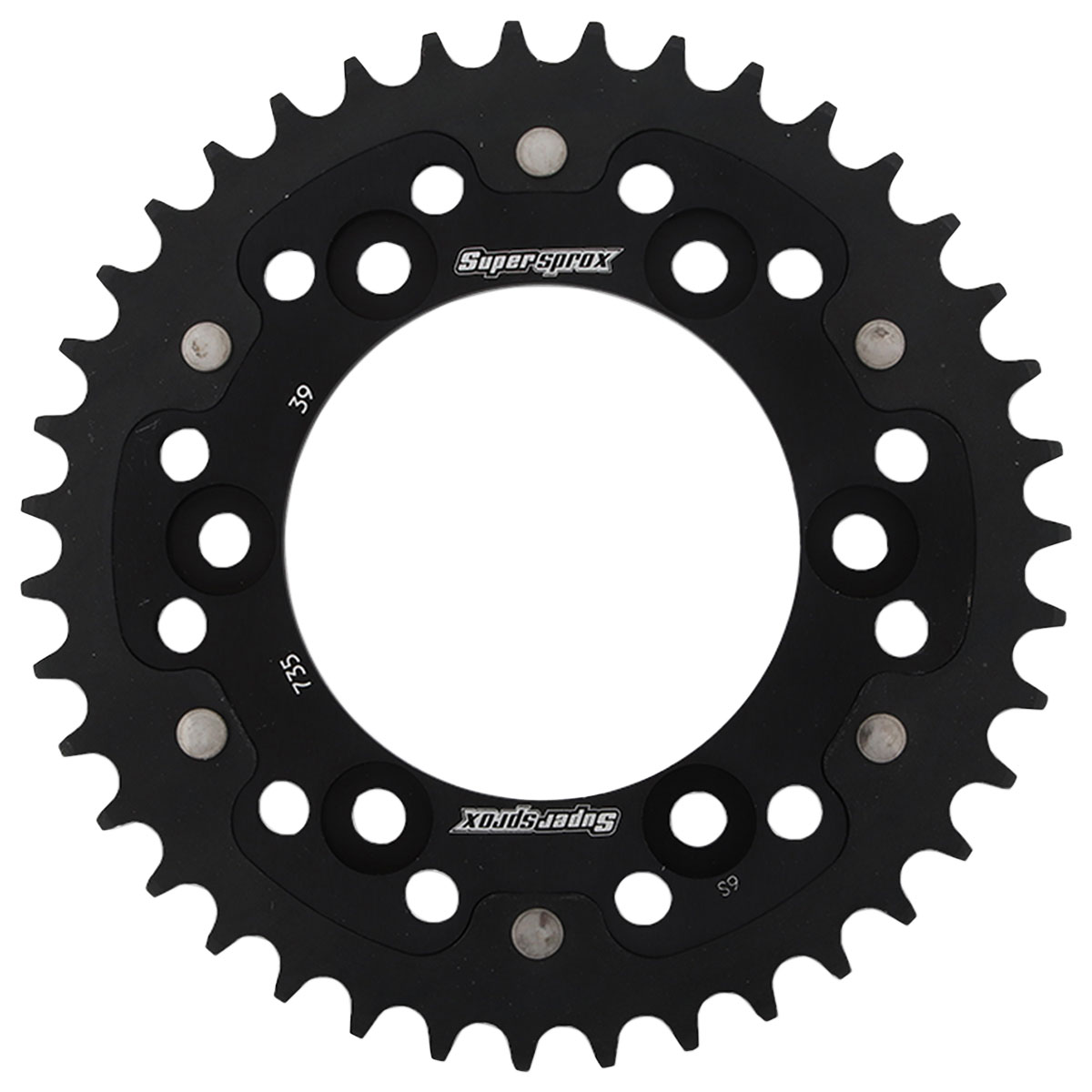 Supersprox Rear Stealth Sprocket 520 39T Black